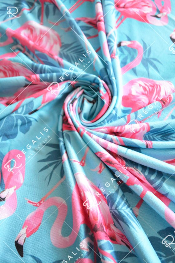Blue flamingo (2)