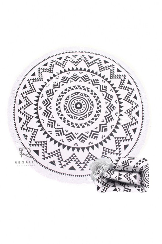 Navajo Round Beach Towel (19)
