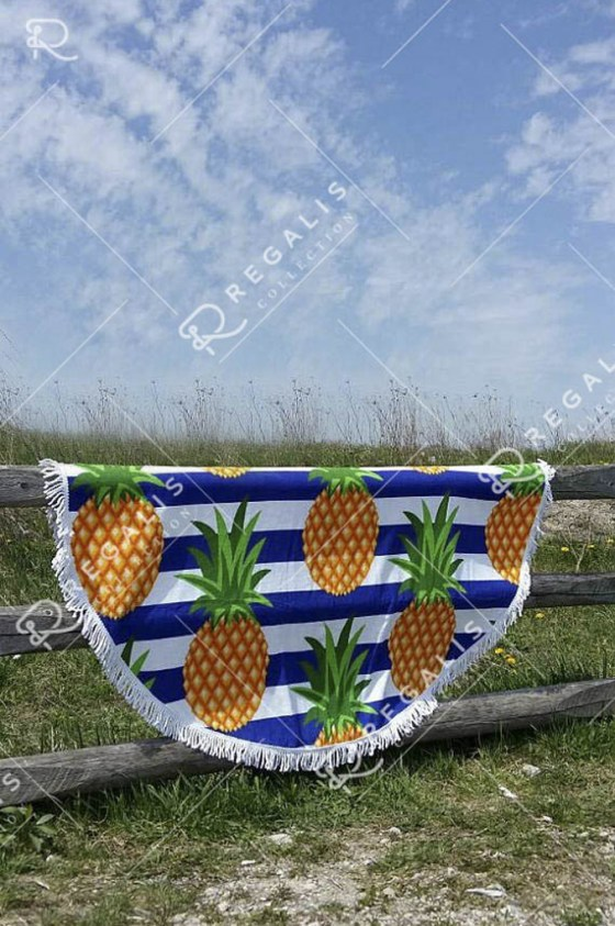 Pineapple Round Towel (10)3